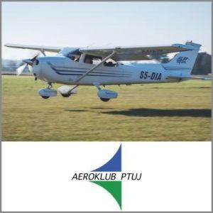 3O minutni panoramski polet za do 3 osebe, Aeroklub Ptuj, Moškanjci (Vrednostni bon, izvajalec storitev Aeroklub Ptuj)